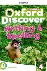 خرید کتاب انگليسی Oxford Discover 4 2nd - Writing and Spelling Book
